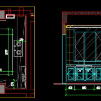 厨柜及卫生间装修设计图