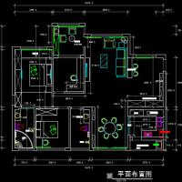 某地三室两厅两卫简约风格最新装修图