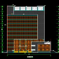 中国移动某地通信机房楼建筑设计施工图全套
