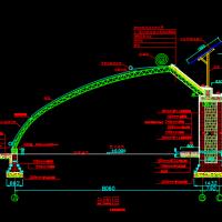 某现代农场温室大棚建筑设计施工图