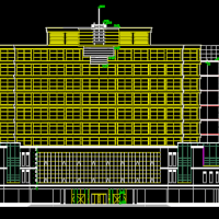 高档酒店建筑设计方案图纸
