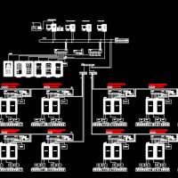 监控系统设计CAD图
