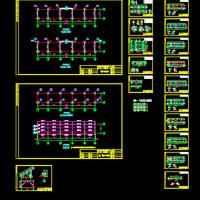 国电10MWp光伏并网电站支架设计图纸