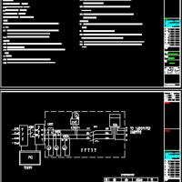 大剧院幕墙111kWp光伏并网电站电气设计图