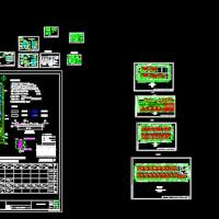 上海某厂区2MW屋顶光伏发电系统电气设计图