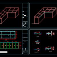 阳光房建筑设计图纸