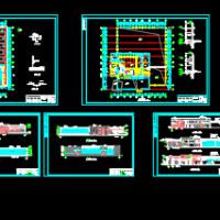 某地福特4S店建筑设计图