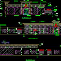 凯迪拉克4S店建筑方案图