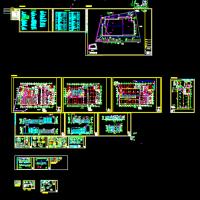 大众4S店建筑施工图纸