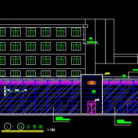 福特4S店建筑图及装修设计图纸
