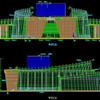 设计精典的大剧院建筑设计施工图