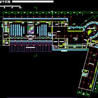 某地二级汽车客运站建筑方案图