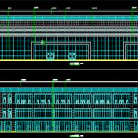 某地一级汽车客运站站房楼建结水电暖全套