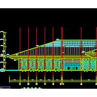 某地高铁站房建筑设计方案施工图纸