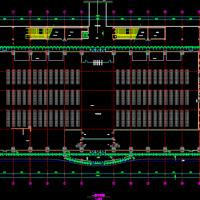 某地铁路客运站站房建筑设计方案图