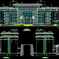 某地六层框架结构车管所综合楼建筑设计