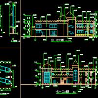 贵州某地两层6班幼儿园建筑设计施工图