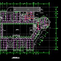 带人防和车库三层九班幼儿园给排水设计图