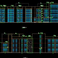 河南三层六班幼儿园建结水电暖通全套设计图