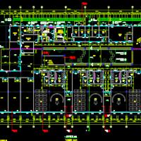 合肥三层九班幼儿园建筑结构水电施工图纸