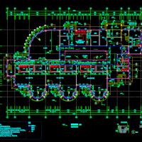 安徽三层九班幼儿园建筑结构施工图纸