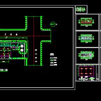 某加油站站房及站棚建筑图