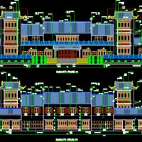 某徽派殡仪馆火葬场全套建筑设计施工图