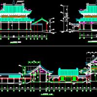 某宗室祠堂建筑与结构全套图纸