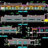 大型火葬场殡仪馆悼念厅改扩建施工图