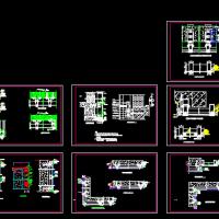 120明框幕墙节点图