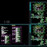 柴油发电机房建筑设计图