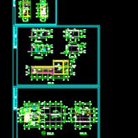 某消防水泵房建筑设计图(含详细节点大样)