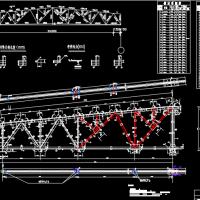27米跨梯形钢屋架课程设计图纸