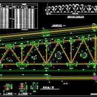 24m梯形钢屋架课程设计图