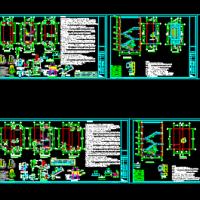 建筑消防改造新增钢结构楼梯设计图