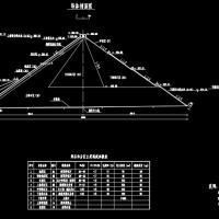 水电站面板堆石坝课程设计(计算及图纸)