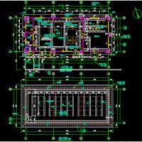 宾馆配套燃气锅炉房建结水暖设计图