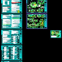 厂区消防水池施工图(含建结水电暖)