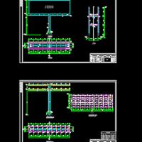 钢结构独立柱广告牌施工图