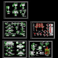 某村头牌坊建筑及结构设计图