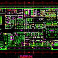 北京某国际大酒店装修设计方案图