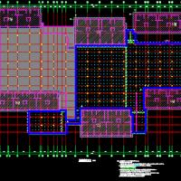 基础抗浮锚杆结构设计图