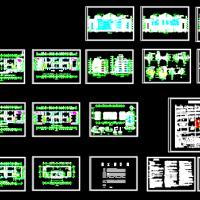 某卫生学校实验楼建筑设计图