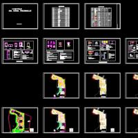 地下车库画线、交通设施、导视及彩绘施工图