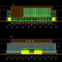 某大学体育馆建筑设计方案施工图纸