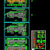 山东某33层住宅楼暖通设计图纸