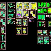 某商业大楼综合楼中央空调设计图纸