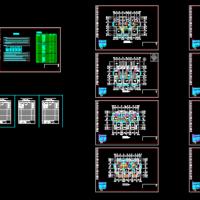 三层别墅多联机空调设计图