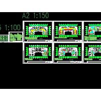 某九层办公楼变容量多联中央空调系统暖通设计图