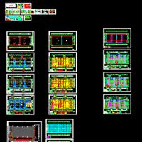 某物流园高层丙类仓库电气设计图纸